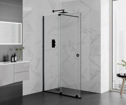 1400mm Rolla 8 Door - Polished Silver