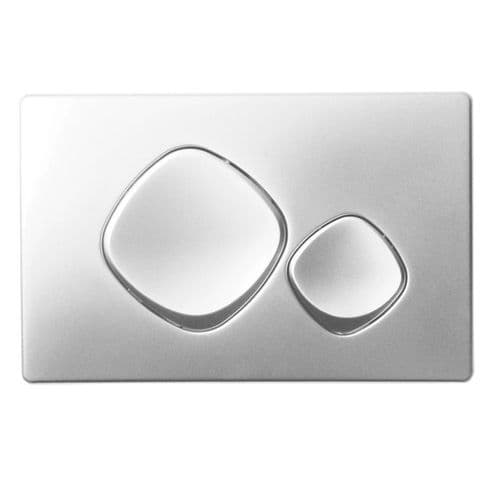 Abacus Easi-Plan Mode Dual Flush Plate - Satin