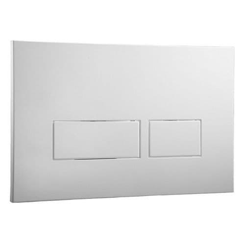 Abacus Easi-Plan Trend 2 Dual Flush Plate - Satin