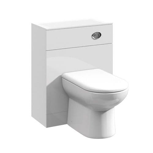 Bathcenter White 500mm x 300mm Gloss White Wc Unit