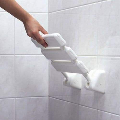 Lakes Animo Shower Seat - 320mm x 320mm - White