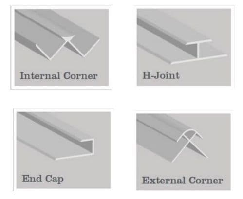 Mermaid Extrusions - Various Styles & Colours