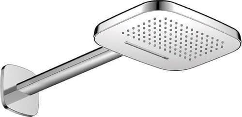Pura Flova Urban Brass Dual Function Air-In Rain/Waterfall Shower