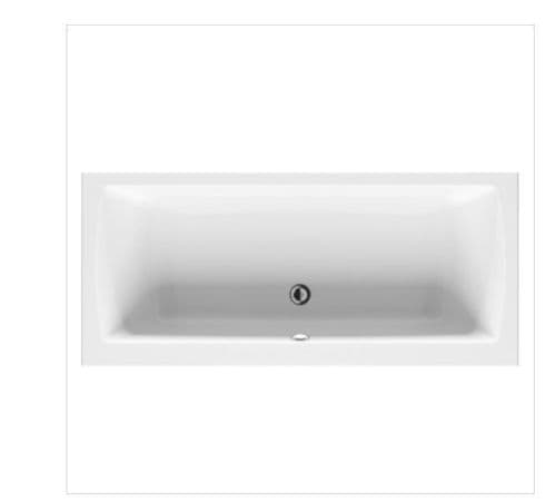 Vitra Neon Double Ended Bath 1800x800mm, Panel Options