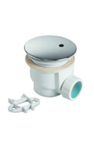 Zamori 90mm High Flow Shower Waste - Chrome