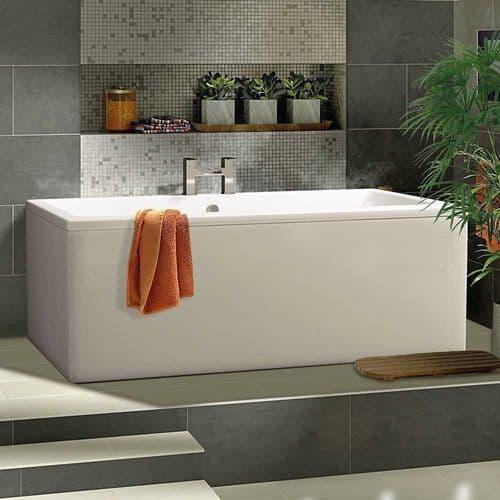 Berg Cubic 1700 x 800mm, Premier Finish Optional, Double Ended Bath