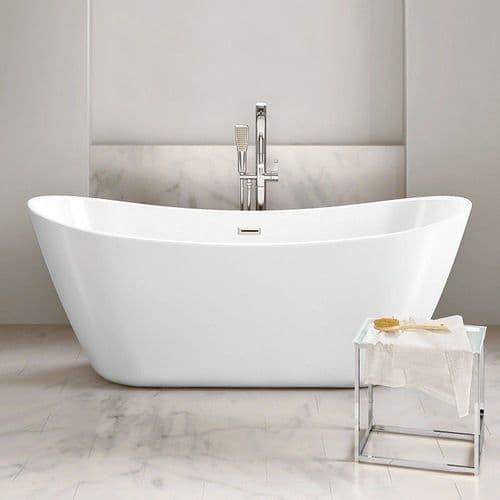 Bolsena 1800 x 800mm Modern Double Ended Bath