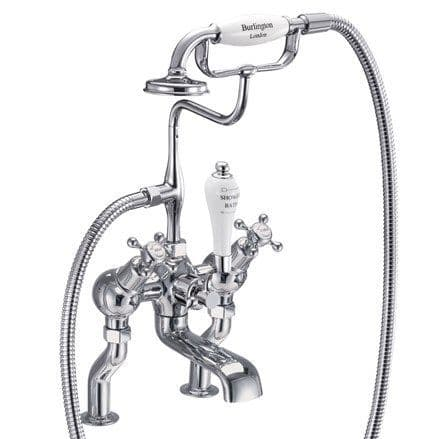 Burlington Claremont Angled Bath Shower Mixer Deck Mounted  CL19