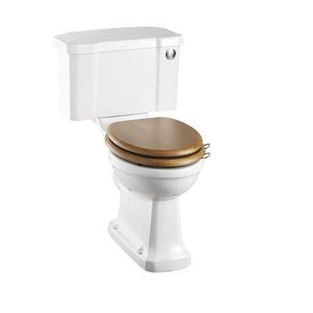 Burlington Regal CC  Toilet with Front Push Button Cistern  P12+C2