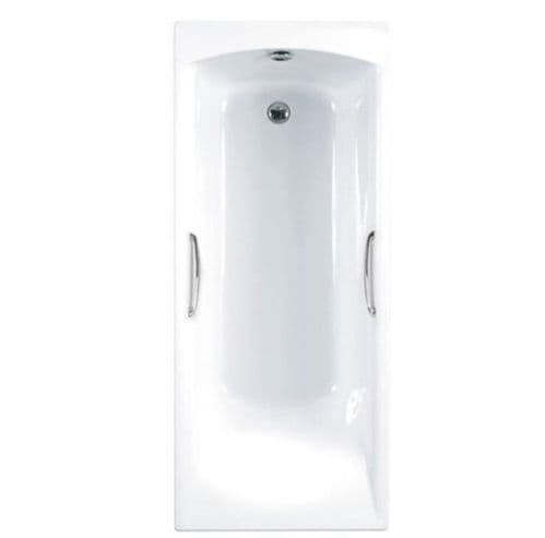 Carron Delta 1500 x 700mm, Twin Grip, Single Ended Bath