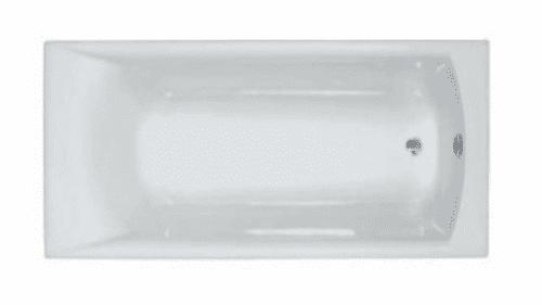 Carron Sigma 1700 x 800mm Single Ended Bath, Optional Grips