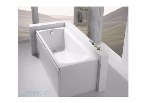 Carron Sigma 1800 x 800mm Single Ended Bath, Optional Grips