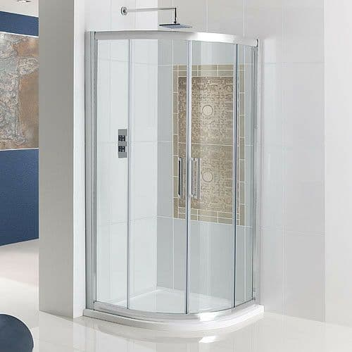 Corniche Quadrant Double Door Shower Enclosure - Various Sizes