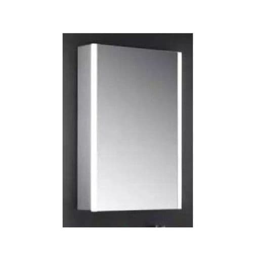 Eastbrook Caldini Led 1-Door Mirror Cabinet - 350 x 450 - White