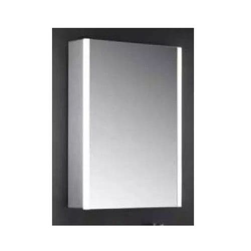 Eastbrook Caldini Led 1-Door Mirror Cabinet - 500mm x 700mm - White
