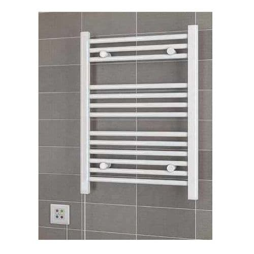 Eastbrook Dry Element Electric Towel Rail - 1100mm x 500mm - White