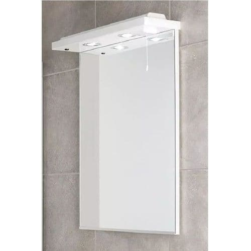 Eastbrook Faro Mirror - 630mm Wide - White
