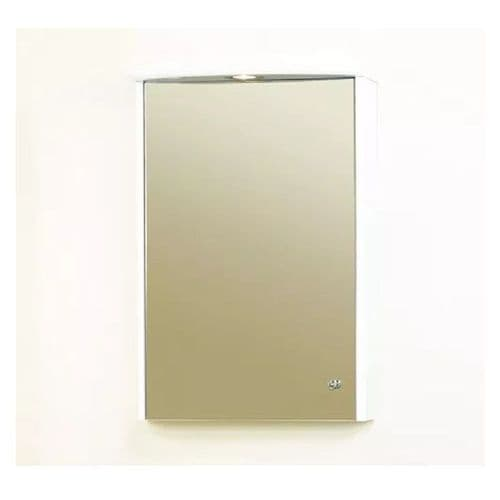 Eastbrook Mirror Cabinet - 485mm Wide - White