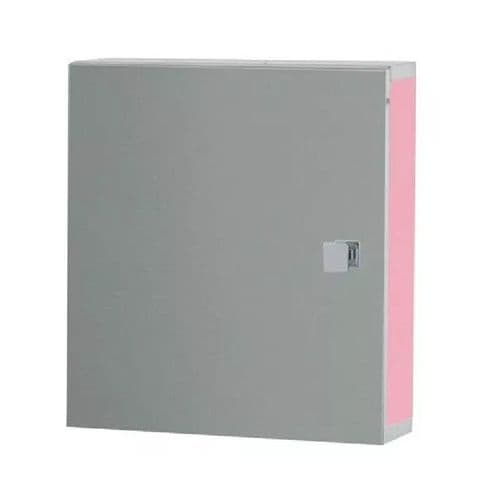 Eastbrook Oslo Mirror Cabinet - 400mm x 400mm - Pink