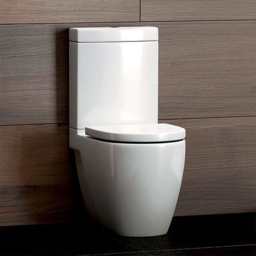 Flero Close Coupled 644mm Toilet & Soft Close Seat