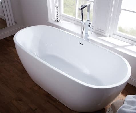 Frontline Summit Luxury Double Skinned Modern Freestanding Bath - Various Sizes