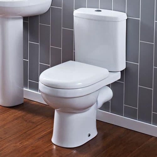 Ivo Close Coupled Pan, Cistern & Soft Close Seat