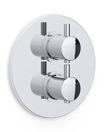 Kiko Concealed Thermostatic Shower Dual Outlet