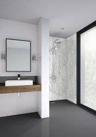 Mermaid Trade Wetwall Shower Panels -Shower Corner Kit