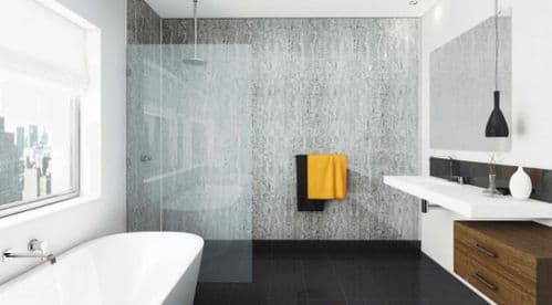 Mermaid Trade Wetwall Shower Panels - Three Wall Alcove Kit for Shower Recess