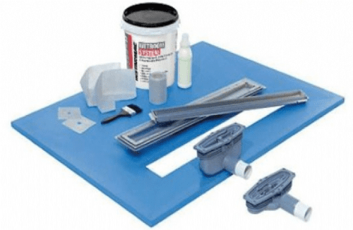 Maxxus Linear Drain Wetroom Kit (For Tiling) inc Tanking & Wetroom Drain