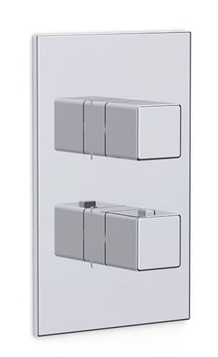 Nulo Concealed Thermostatic Shower Dual Outlet