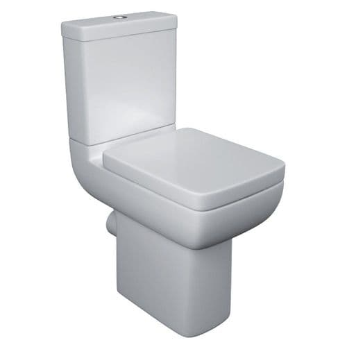 Options 600 Comfort Height Close Coupled Toilet & Soft Close Seat