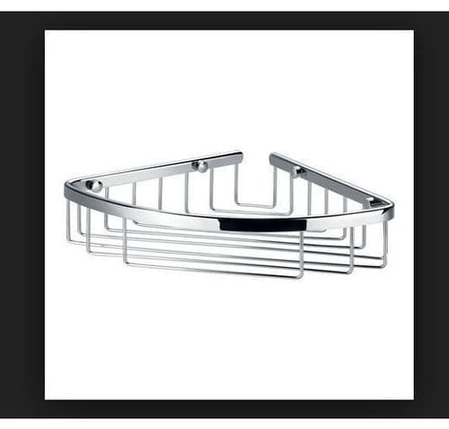 Pura Flova Brass Corner Rack 205mm Ra8936, For Bathrooms