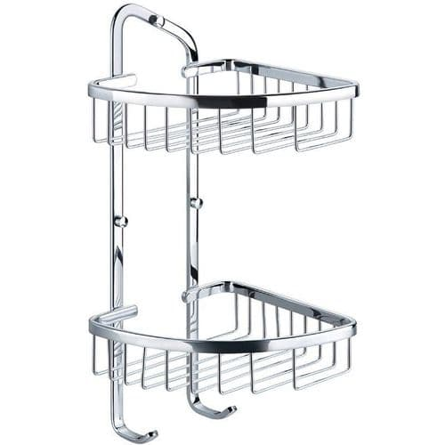 Pura Flova Brass Double Rack Ra8962 For Bathrooms