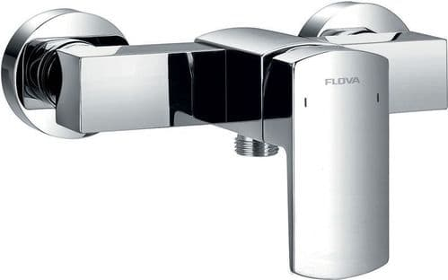 Pura Flova Dekka Exposed Manual Single Lever Shower Mixer Only