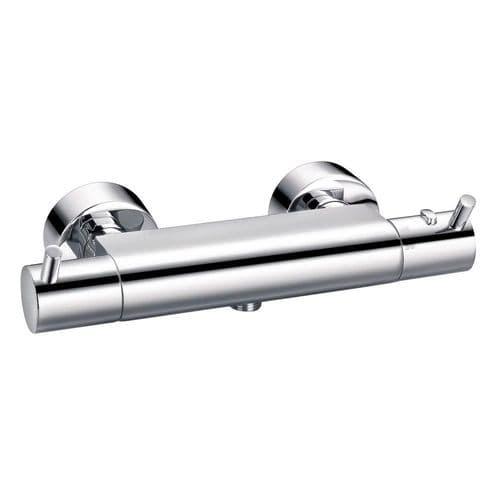 Pura Flova Levo Exposed Thermostatic Shower Mixer Lvtbv