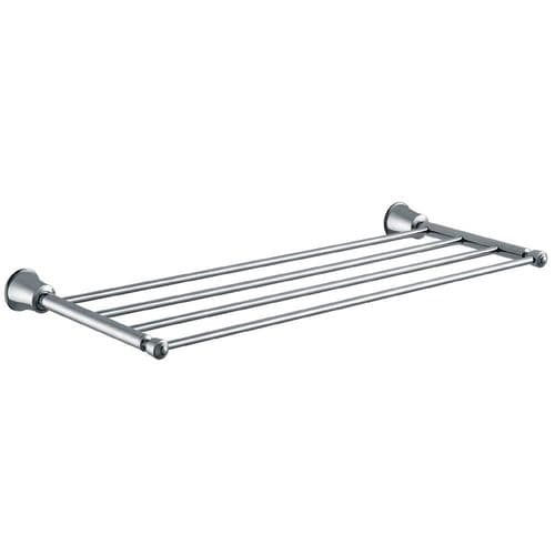 Pura Flova Liberty 4-Towel Shelf Li8983 - Chrome