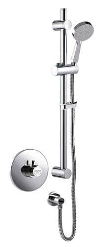 Puro Thermostatic Mini Concentric Dual Control Shower