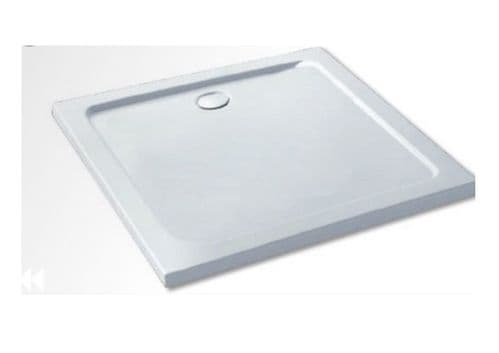 Reflexion Low Profile Square Shower Tray - Various Sizes - 40mm High