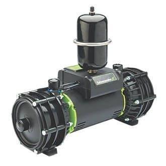 Salamander Rp100Tu 3.0 Bar Twin Impeller Universal Whole House Pump
