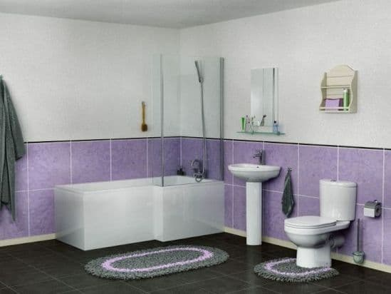 Shower & Corner bath Suites