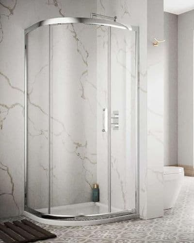 Sommer 8 Single Door Quadrant Shower Enclosure 900mm - Tray Option