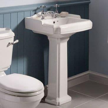Traditional Pedestal Basins
