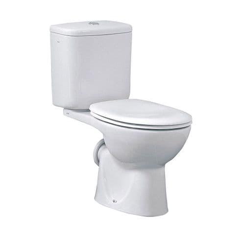 Vitra Layton Close Coupled Toilet Including Soft Close Toilet Seat
