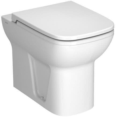 Vitra S20 Back-To-Wall Toilet Pan