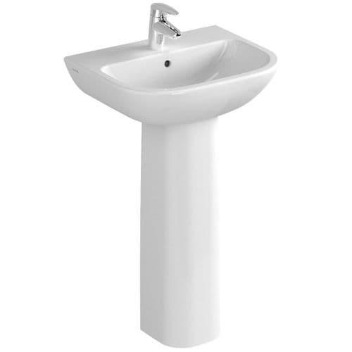 Vitra S20 Basin & Pedestal - Various Sizes - Full or Semi Pedestal