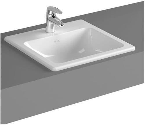 Vitra S20 Countertop Basin 450mm Square