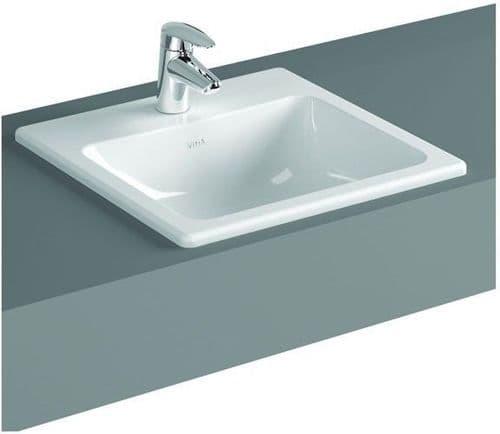 Vitra S20 Countertop Basin 550mm Square