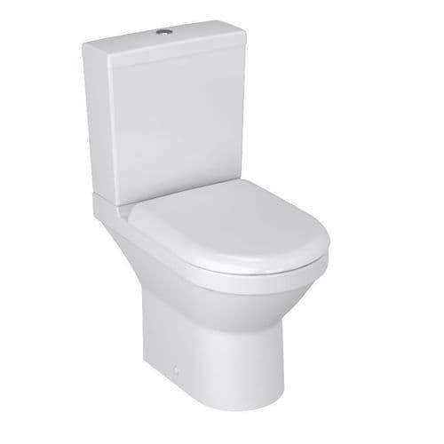 Vitra S50 Close Coupled Toilet Pan, Cistern & Soft Close Seat