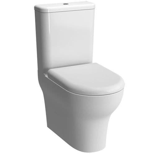 Vitra Zentrum Close Coupled Toilet Pan, Cistern & Soft Close Seat